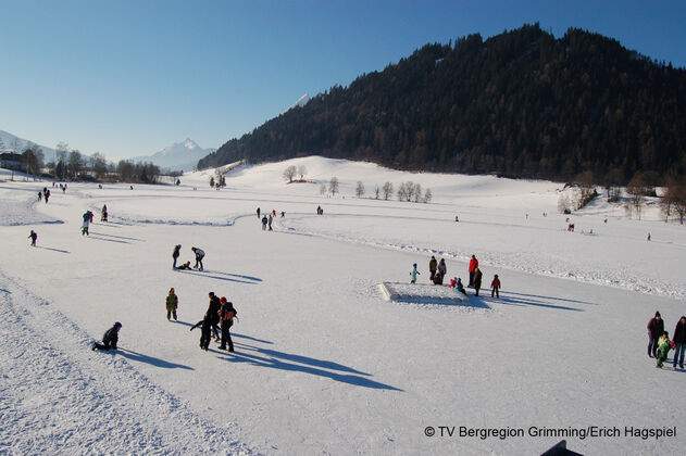 Ice Skating at Putterersee